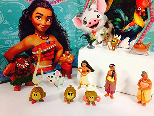 disney-moana-movie-deluxe-mini-cake-toppers-cupcake-decorations-set-with-12-figures-include-moana-ma