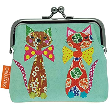 Monedero clic clac ecletic Santoro - geldtascherl Cats With ...