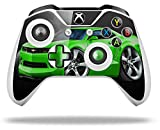 2010 Camaro RS Green - Decal Style Skin fits Microsoft XBOX One S and One X Wireless Controller