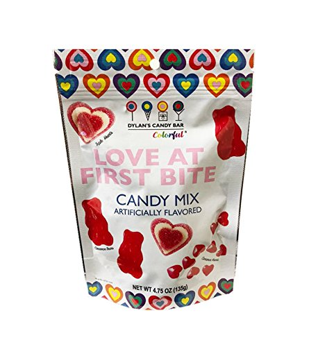 Candy Bar Valentines (Dylan's Candy Bar Valentine's Day Love at First Bite Candy Mix 4.75oz)