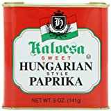Kalocsa Sweet Hungarian Style Paprika, 5-Ounce Can (Pack of 12)