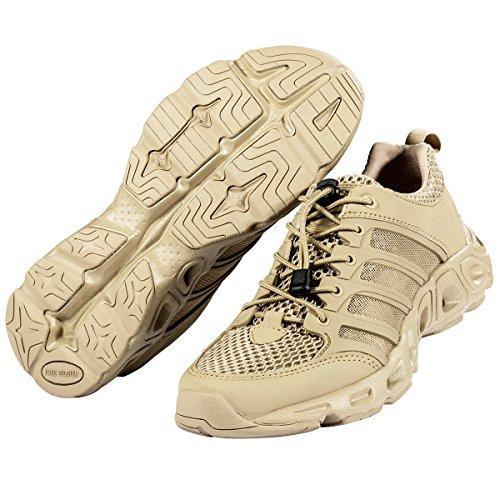Free Soldier - Zapatillas deportivas de exterior ligeras y transpirables de secado rápido para hombres arena