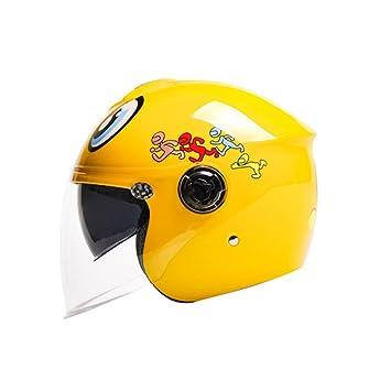 Casco de dibujos animados lindo de cuatro estaciones casco multifuncional casco de los niños medio casco