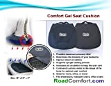 Coccyx Gel Seat Cushion with Air-Flo3D Breathable Fabric for Wheelchair,office,car,home