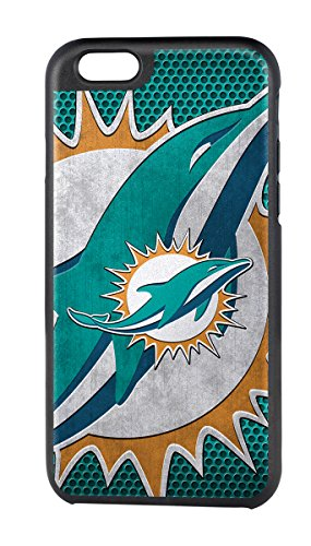 NFL Miami Dolphins Rugged Case for Apple iPhone 6 - Black/Orange/Teal/White