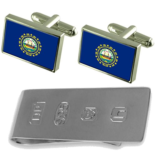 James amp; Hampshire Clip Flag New New Hampshire Flag Bond Cufflinks Cufflinks amp; James Money YxfAYqwvz