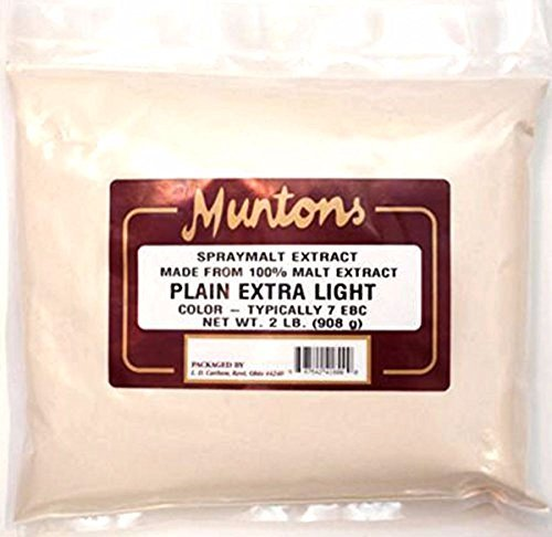 Home Brew Ohio B017J5U36O FBA_Does Not Apply Muntons Plain Extra Light Dry Malt Extract 2 Lb, Beige by Home Brew Ohio