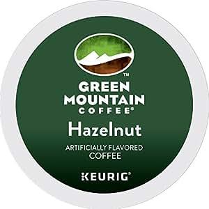 Green Mountain Coffee Hazelnut Keurig Single-Serve K-Cup Pods, Light Roast Coffee, 24 Count