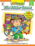 Colorful File Folder Games, Grade 3: Skill-Building Center Activities for Language Arts and Math (Colorful Game Book Series)