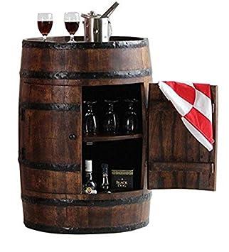 Jiya Creation Colonial Style Alcodrum Bar Cabinet With Door (Teak Wood Finish)