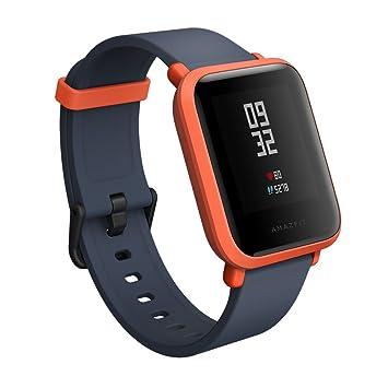 Amazfit Bip Smartwatch reloj inteligente Bluetooth con GPS Monitor de ritmo cardíaco en tiempo real Resistente al agua Sports Fitness Tracker Soporte iOS y ...
