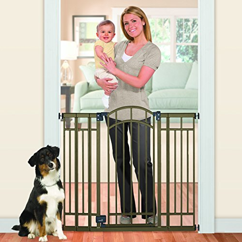 012914076002 - Summer Infant Multi-Use Deco Extra Tall Walk-Thru Gate, Bronze carousel main 4