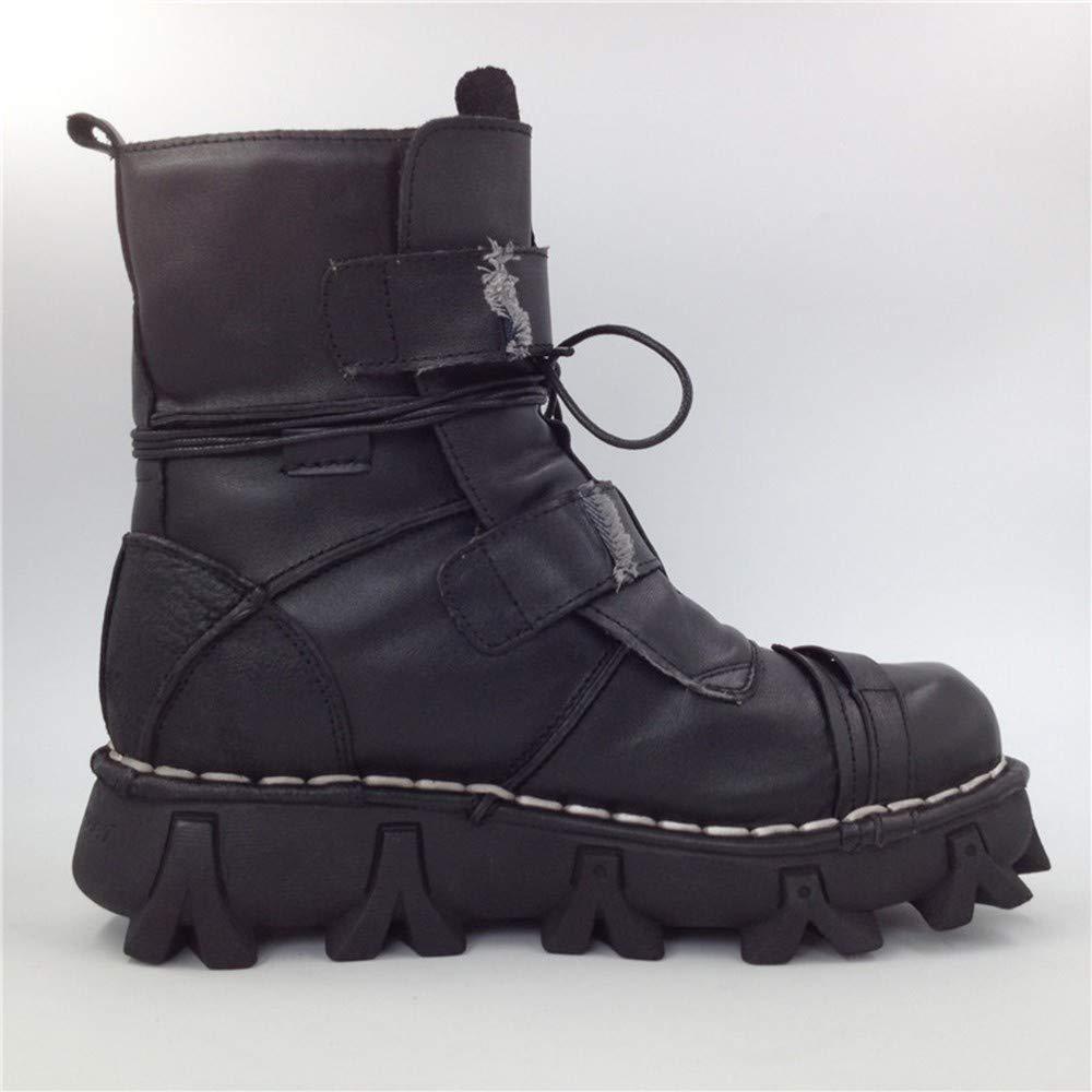 IDNG Basketballschuhe Mens Skull Stiefel Martins Schuhe Für Männer Ankle Metallskelett Warme Ankle Männer Schuhe Mann 2d1f20