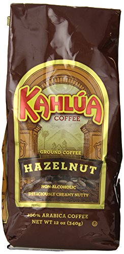 Kahlua Gourmet Ground Coffee, Hazelnut, 12 Ounce