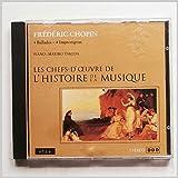 Chopin: 4 Ballades, 4 Impromptus: Les Chefs-D'Oeuvre de L'Histoire de La Musique [Music CD]