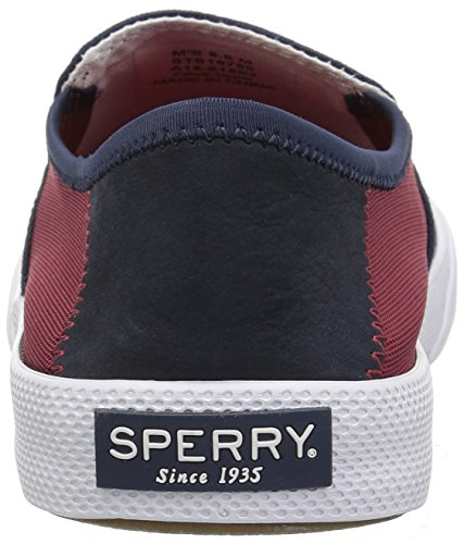 Sperry Top-sider Mens Striper Ii Slip-on Sneaker Blu / Rosso