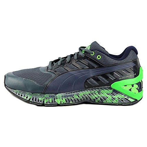 Zapato Puma Quickflex Formación V2 Turbulence-Peacoat-Green