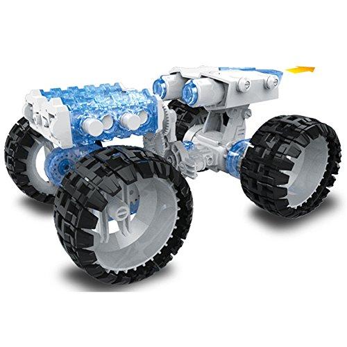 [DIY Salt Water Fuel Cell Engine Car Kit] (Fuel Cell Car Kit)