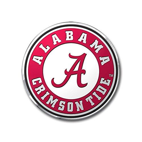 Team ProMark NCAA Alabama Crimson Tide Die Cut Color Auto Emblem