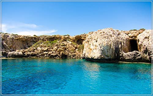Amazon com : Cyprus coastal scenery features creative