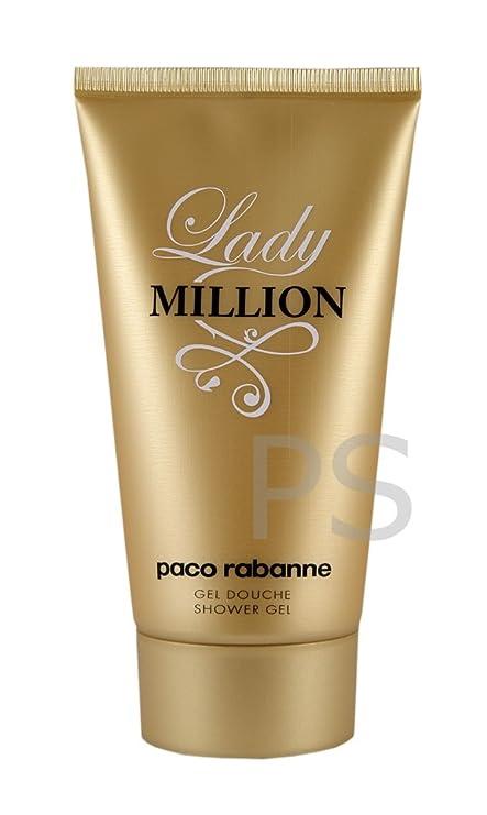3a2caa30f Paco Rabanne - LADY MILLION gel de ducha 150 ml: Amazon.es: Hogar