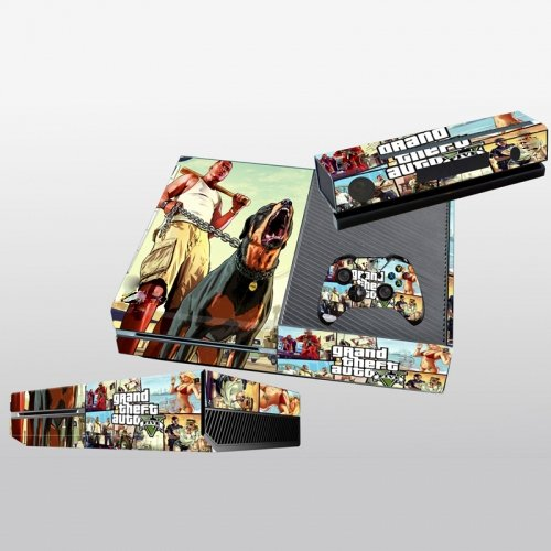 GTA5 STYLISH DESIGN FOR XBOX ONE KINECT AND CONTROLLER SET (Grand Theft Auto Vice City Xbox One)