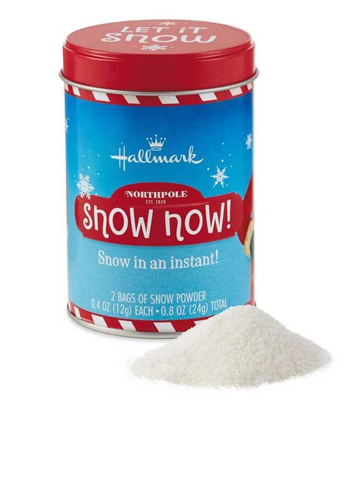 North Pole Snow Now! Snow in an Instant By Hallmark Special Christmas Delivery! Includes 2 Bags by Hallamrk