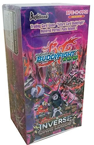 (Buddy Fight Terror Of The Inverse Omni Lords Perfect Pack Booster Box TCG Card Game English)