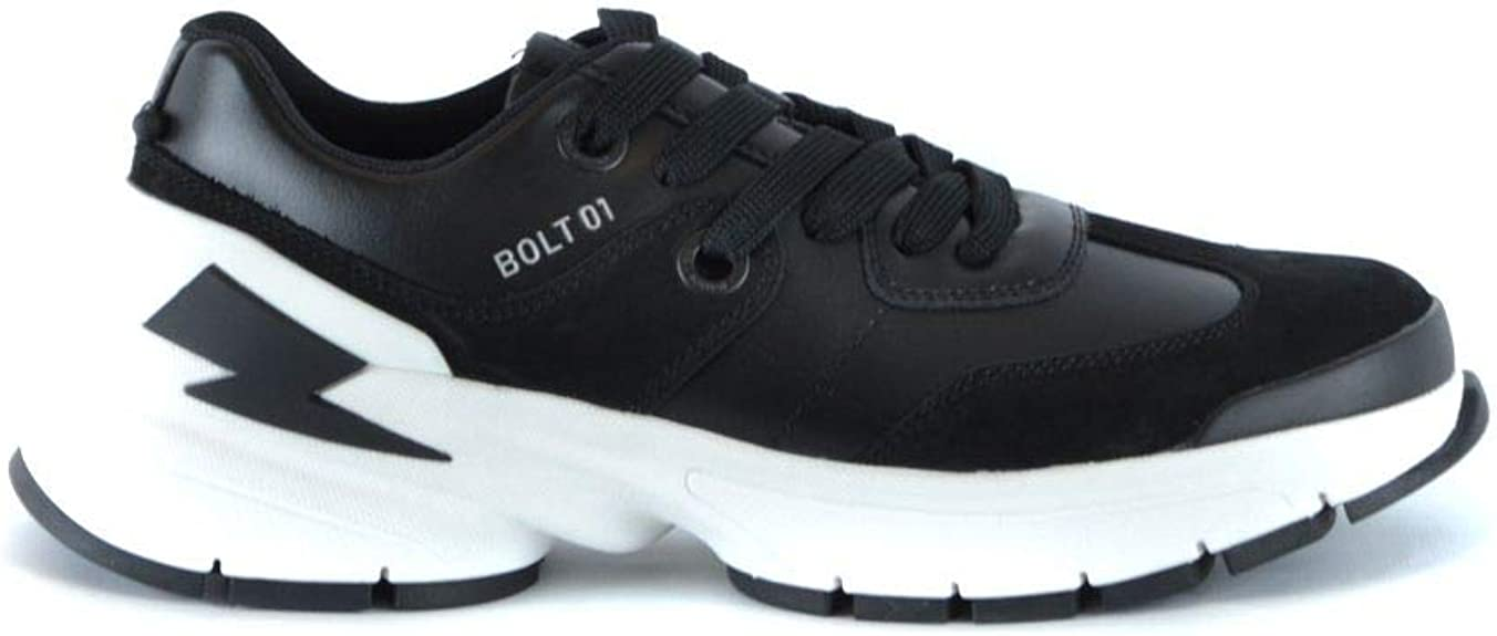 Luxury Fashion | Neil Barrett Hombre BCT316L9003524 Negro Zapatillas | Temporada Outlet: Amazon.es: Zapatos y complementos