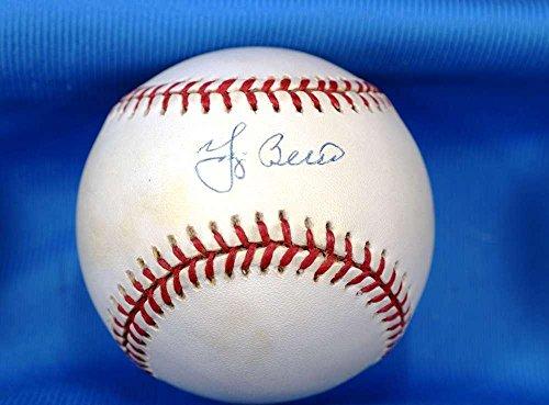 Signed Yogi Berra Baseball - American League OAL - Upper Deck Certified - Autographed Baseballs