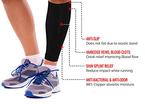 Clearing Sale! Copper Compression Calf Sleeve For Men ...