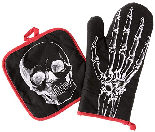 Sourpuss Anatomical Oven Mitt Set