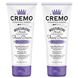 Cremo French Lavender Moisturizing Shave Cream, Astonishingly Superior Shaving Cream For Women, Fights Nicks, Cuts And Razor Burn, 6 oz., 2-Pack
