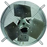 TPI Corporation Direct Drive Exhaust Fan, Guard Mounted, Single Phase, 120 Volt