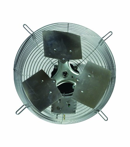 (TPI Corporation CE-18-D Direct Drive Exhaust Fan, Guard Mounted, Single Phase, 18