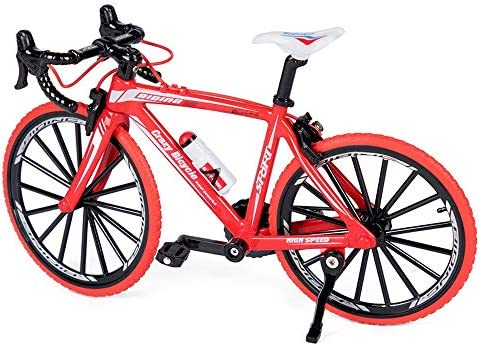 Rebily Bicycle Model 1: 8 Alloy Toy Bicycle Model Series of Children`s Toys (Color : Red) / Rebily Bicycle Model 1: 8 Alloy Toy Bicycle Model Series of Children`s Toys (Color : Red)