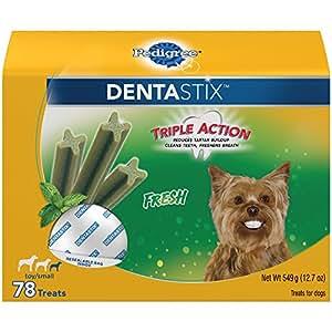 Pedigree DENTASTIX Fresh Toy/Small Treats for Dogs - 1.6 Pounds 78 Treats