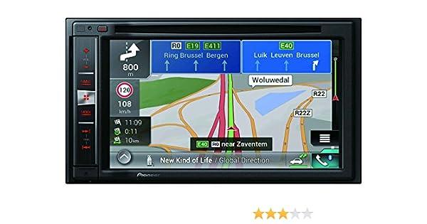 Pioneer AVIC-F970BT - Sistema de navegación GPS 2 DIN con Pantalla resistiva DE 6.2