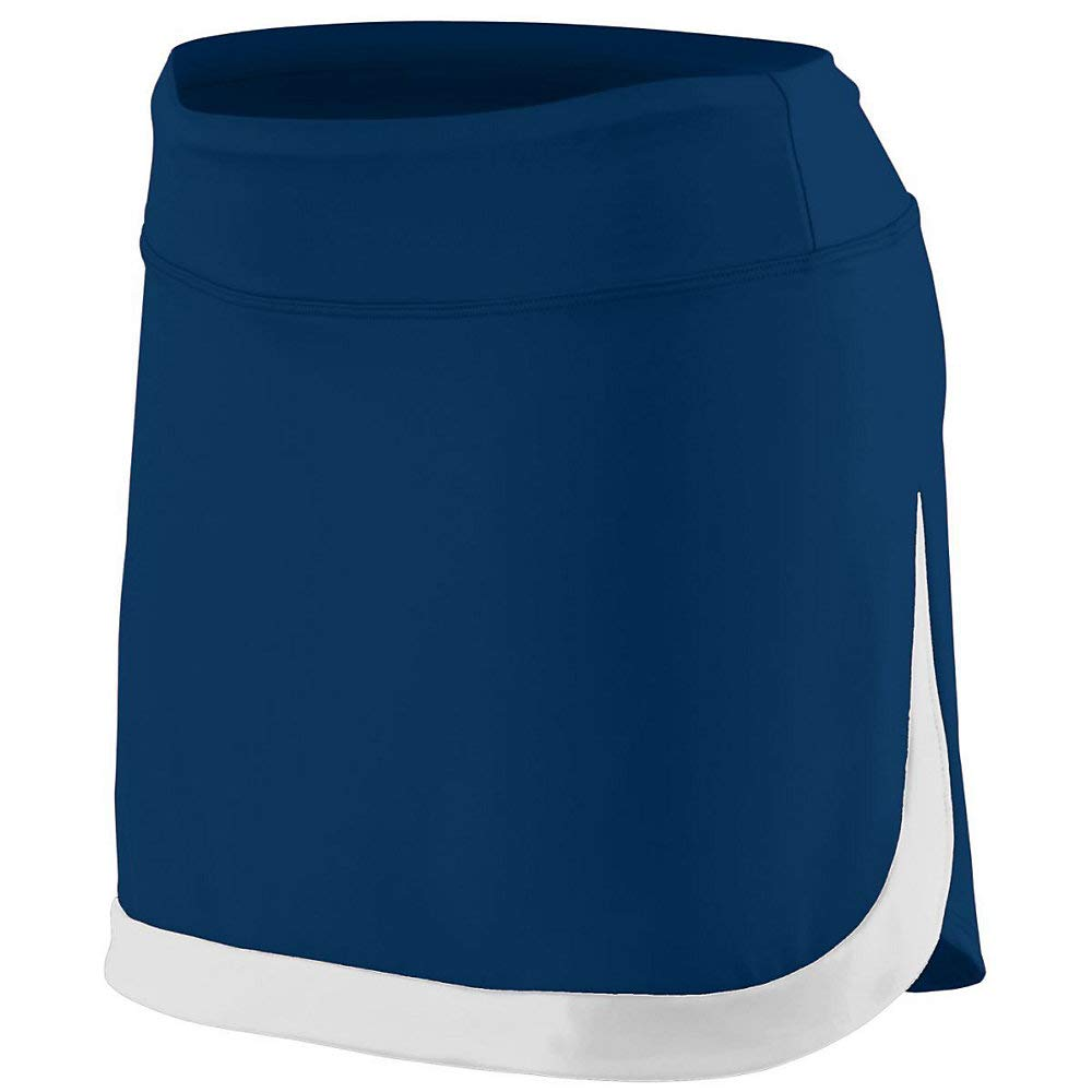 Augusta Sports Girls Large Navy/White Skort by Augusta Sports