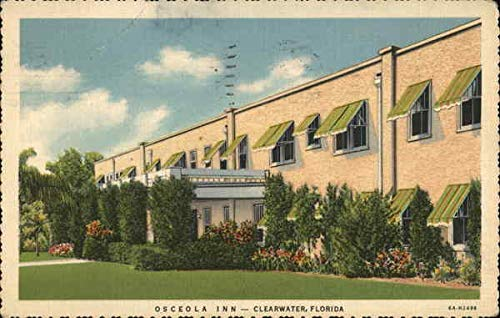 Osceola Inn Clearwater, Florida Original Vintage Postcard ()