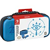 Nintendo Switch Game Traveler Deluxe Travel Case- Zelda Breath of the Wild - Sheikah Eye - Blue