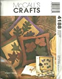 Mccall's Crafts Sewing Pattern 4188. Fall Designs