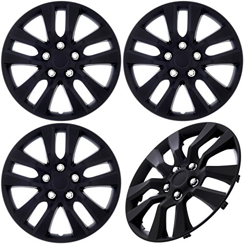 Cover Trend (Set of 4) Black Matte Aftermarket 16