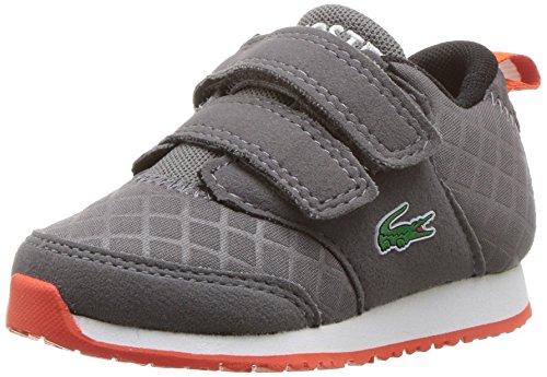 Lacoste Baby L.Ight 417 1 Spi Sneaker, Darkgrey, 6. M US Toddler