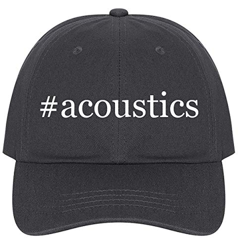 The Town Butler #Acoustics - A Nice Comfortable Adjustable Hashtag Dad Hat Cap, Dark Grey, One Size