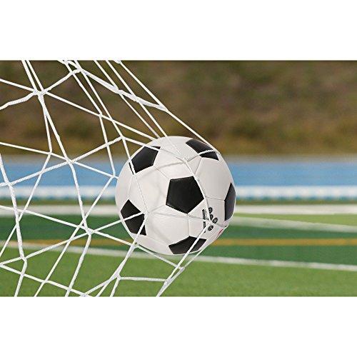 VGEBY Soccer Goal Net, Full Size, Replacement Goalie Net Soccer Training 6x4/8x6/12x6/24x8 feet (8 6 ft)
