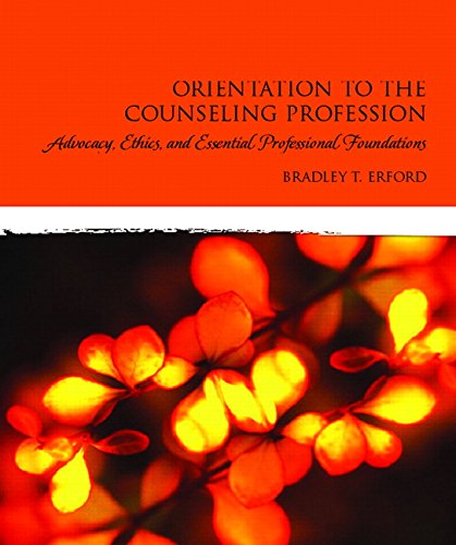 Orientation To Counseling Profession