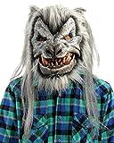 Zagone Studios Silver Deluxe Wolf (Werewolf) Mask