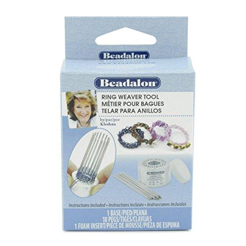 Beadalon, Kleshna Handel, 1 Aluminum Ring Weaver Tool