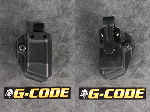 (G-Code Kydex Single Pistol Magazine Carrier with IWB Clip (Glock Double Stack 9/40/357 and G36))